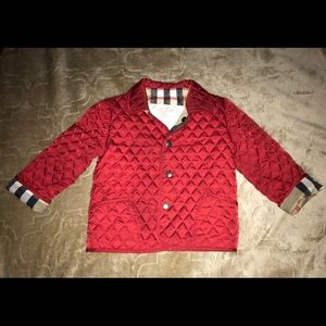 Burberry 12M Quilted Jacket